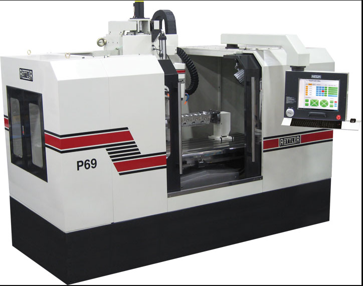 Rottler P69AHD CNC Cylinder Head Porting Machine
